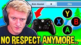 Tfue LOSES RESPECT for CONTROLLER PLAYERS and Explains Why... (Tfue Controller Experience)