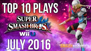 Smash Wii U Top 10 Plays of July 2016 – SSB4
