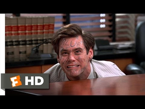 Liar Liar (4/9) Movie CLIP - The Pen Is Blue (1997) HD
