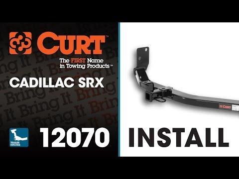 Trailer Hitch Install: CURT 12070 on a Cadillac SRX