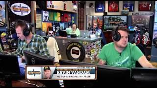 Kevin VanDam calls into the Dan Patrick radio show