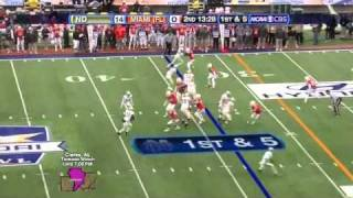 Brandon Harris vs Notre Dame Sun Bowl 2010 vs  (2010)