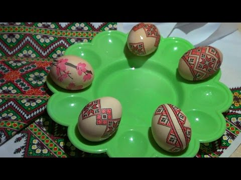 Украшаем Пасхальные Яйца. Писанки. Простой и оригинальный способ украшения яиц Декупаж