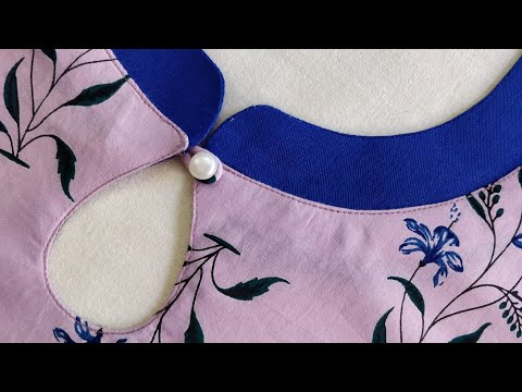 Simple and Latest Neck Design Cutting and Stitching