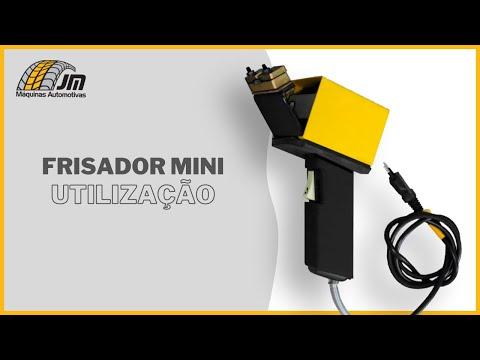 Frizador Mini - Utilização