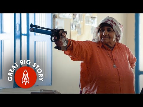 Don't Mess with the World's Oldest Female Sharpshooter