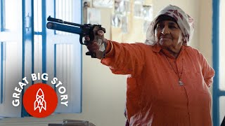 At 84, the World's Oldest Female Sharpshooter Doesn't Miss