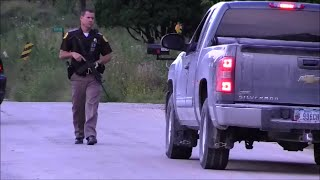 Oelwein (IA) United States  city photo : 20140911 Officer Involved Shooting and Manhunt - Oelwein, Iowa - Myke Goings - KMDG