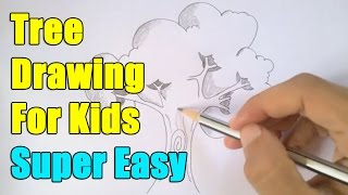 How to draw a tree in easy way