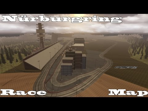 Euro Truck Simulator 2 - Nürburgring - Race Map (Mercedes-Benz Actros MPIV)