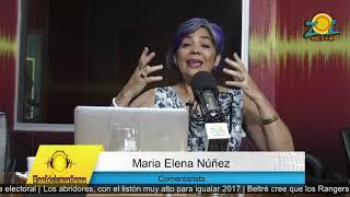 Maria Elena Nuñez comenta conflicto entra Ministerio de Educación y la ADP