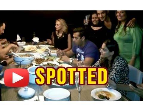 Salman Khan Spotted Having Meal With Iulia Vantur