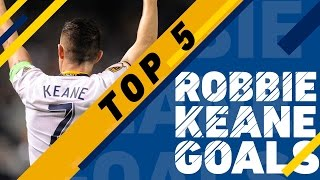 Top 5 Robbie Keane Goals by Major League Soccer