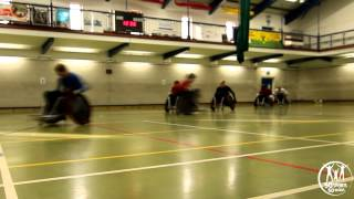 Andy Barrow - Wheelchair Rugby feature on 50 Sports in 50 Weeks
