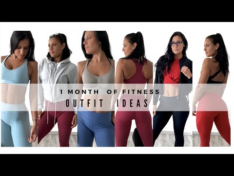 LOOK BOOK | 30 DAY OF FITNESS OUTFIT  IDEAS
