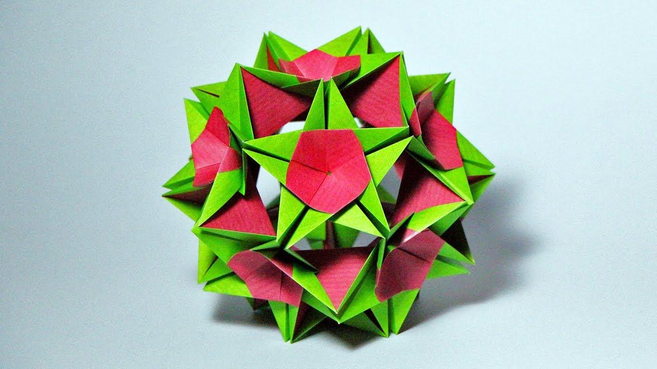 Origami Claire Kusudama (Xander Perrott)