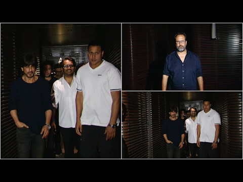 Shahrukh Khan Spotted At Estella For Dinner With Anand L Rai