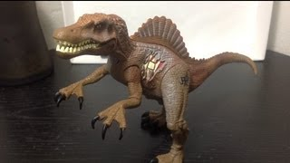 Hasbro Jurassic Park III Re-Ak A-Tak Electronic Spinosaurus Figure Review