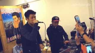 Download Lagu Beenzino @ 기린 개인전 '내 마음에 감동 주는 한글 랩과 한글 노래' 121019 Mp3