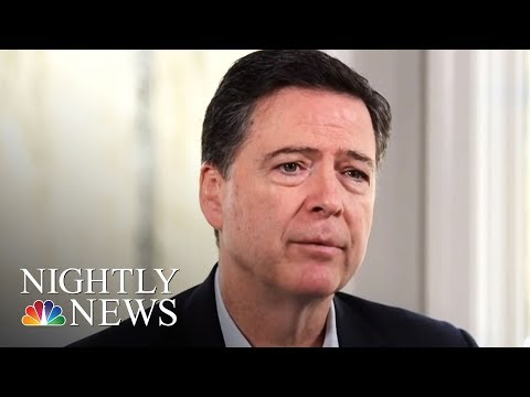 James Comey: President Donald Trump 'Morally Unfit To Be President' | NBC Nightly News