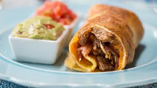 Inside-Out Breakfast Burritos by Tasty