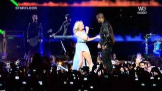 Taio Cruz feat. Kylie Minogue - Higher (Live @ Starfloor - 30.10.10)