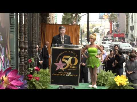Tinker Bell Walk of Fame Ceremony