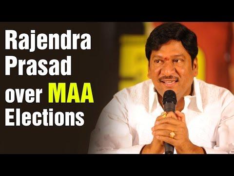 Actor Rajendra Prasad Press Meet Over Maa Elections  HMTV Exclusive