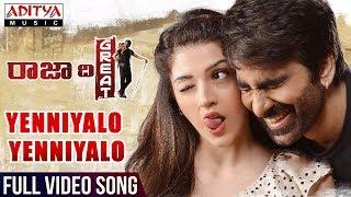 Video Yenniyalo Yenniyalo Full Video Song | Raja The Great Videos | Ravi Teja, Mehreen | Sai Kartheek MP3, 3GP, MP4, WEBM, AVI, FLV Maret 2018