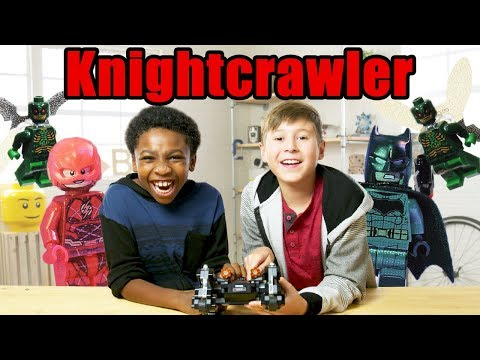 LEGO Justice League Knightcrawler Tunnel Attack Review - The Build Zone Season 5 Episode 12 (видео)