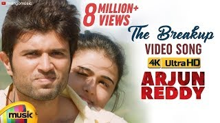 Video The Breakup ( Telisene Na Nuvve ) Full Video Song 4K | Arjun Reddy Video Songs | Vijay Deverakonda MP3, 3GP, MP4, WEBM, AVI, FLV Maret 2018