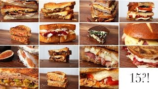 15 Grilled Cheese Ideas | Happy Grilled Cheese Month!!! by The Domestic Geek