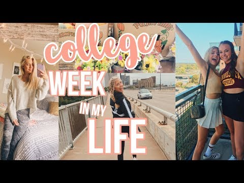 College Week In My Life // Sorority Stuff, Getting Organized, Stressful Classes