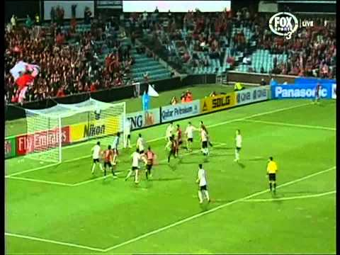 western - Western Sydney Wanderers Vs Guizhou Renhe in rd 6 of the afc champions league. Shannon Cole 6th minute Labinot Haliti 75th minute Aaron Mooy 81st Minute Shin...