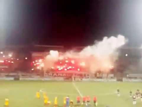 Granadictos 24 - Recibimiento Al Equipo  CARABOBO FC (4) vs Aragua Fc(1) - Granadictos - Carabobo