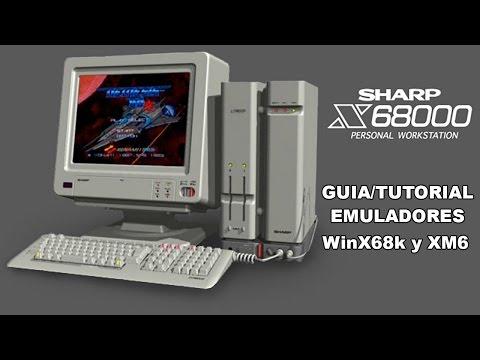 Guía/Tutorial Emuladores Sharp X68000