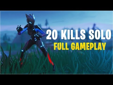 20 Kills Solo | Console - Fortnite Gameplay