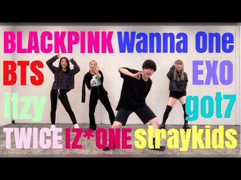 K-POP ランダムダンスチャレンジしたら最後頭おかしくなったwww