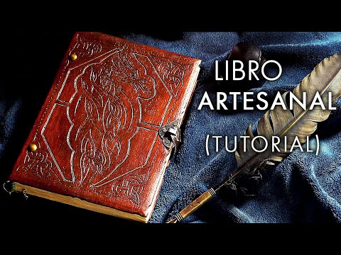 Agendas artesanales paso a paso videos videos - Como hacer un libro antiguo ...
