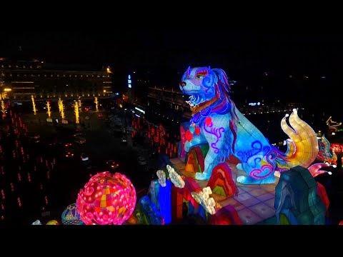العرب اليوم - انطلاق مهرجان فوانيس الربيع في الصين