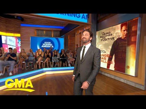 Gerard Butler talks new action hero film 'Angel Has Fallen' | GMA