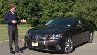 2013 Lexus LS 460 AWD - Drive Time Review With Steve Hammes