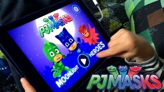 Let's Play PJ Masks Moonlight Heroes - NEW! iPad Game