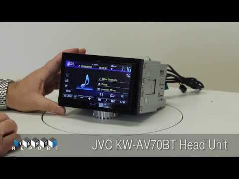about:JVC - A Test Report of the JVC KW-AV70BT Head Unit by Garry Springgay of Cogent Audio Labs for Performance Auto & Sound magazine.