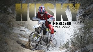 8. Husqvarna FE450 is fit with the 450 OR engine