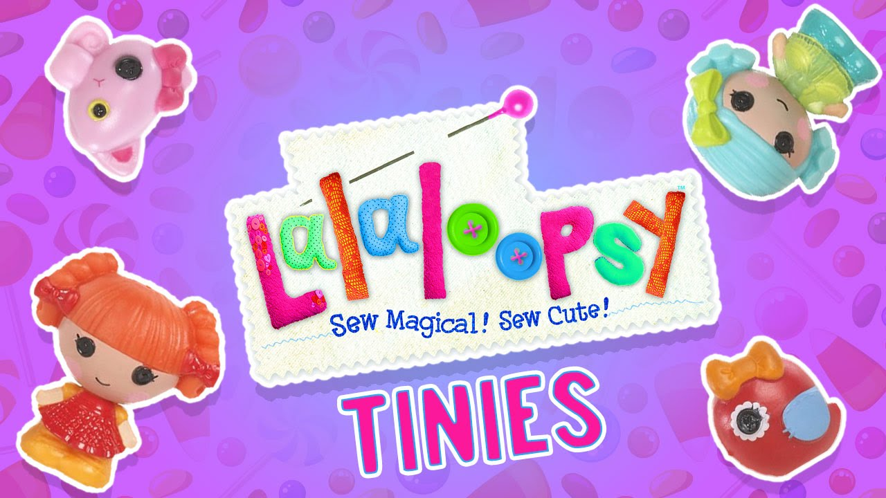NEW LALALOOPSY TINIES BLIND BAGS!