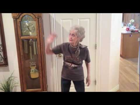 90 Year Old Grandma Dancing Moves Like Jagger