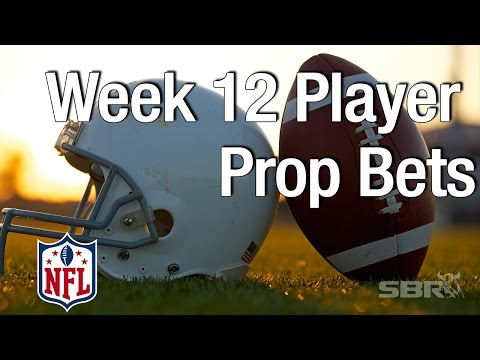 Week 12 NFL Prop Picks on Players