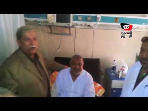 في ثاني أيام عيد الفطر.. محافظ الإسماعيلية يطمئن على انتظام العمل بالمستشفيات