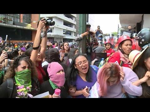 Mexiko: Neue Proteste wegen Gewalt an Frauen